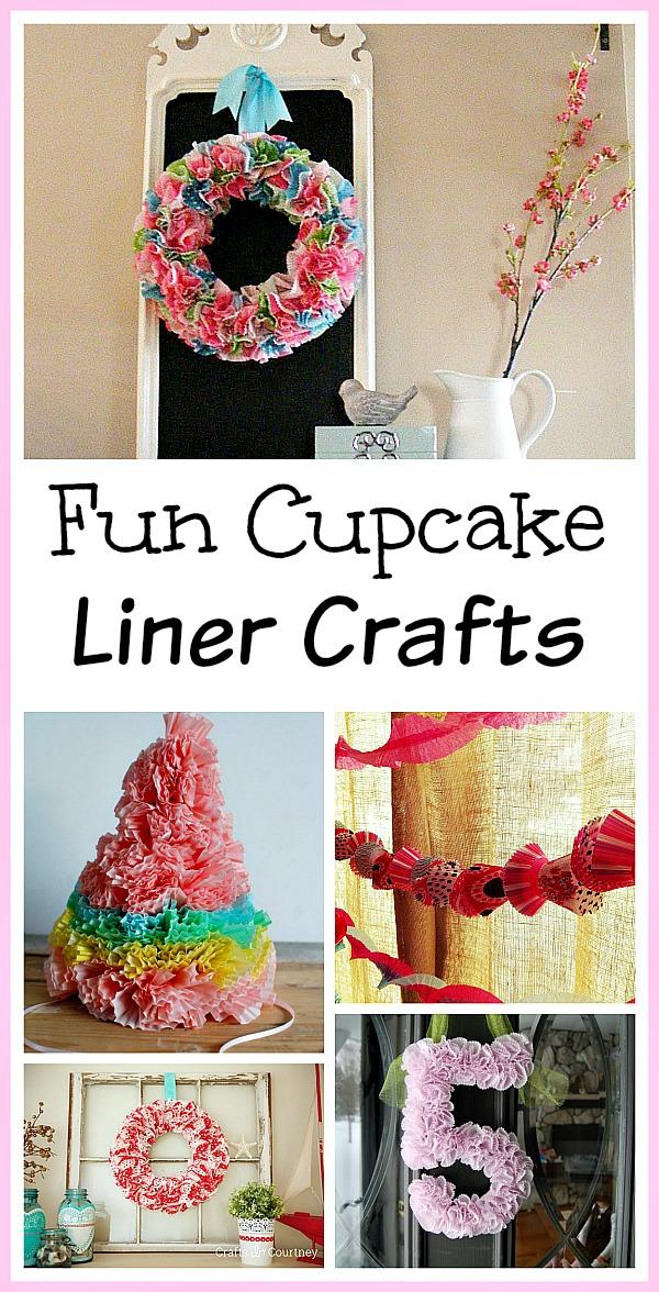 14 Fun Cupcake Liner Crafts