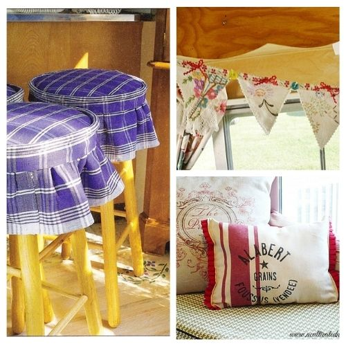 12 Gorgeous Projects Made With Towels- These 12 gorgeous projects made with towels are easy, fun, and a great way to recycle material. These creative towel upcycling DIY projects are sure to inspire you! | sewing projects, upcycle old towels, #sewing #recycle #repurpose #diyProjects #ACultivatedNest