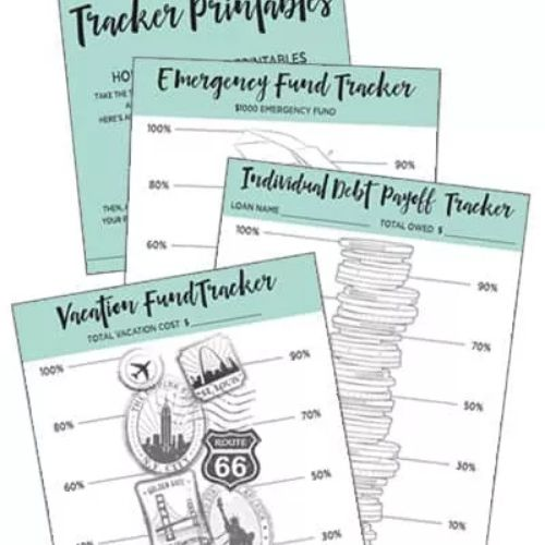 Debt Repayment Free Printables- These creative ways to visualize your debt repayment will keep you motivated towards your goal of financial freedom. Take a look to get inspired! | #debt #debtPayoff #frugalLiving #payingOffDebt #ACultivatedNest