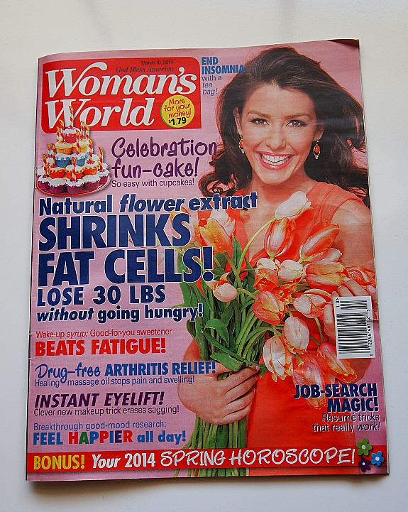 Woman's World Magazine March 10 issue