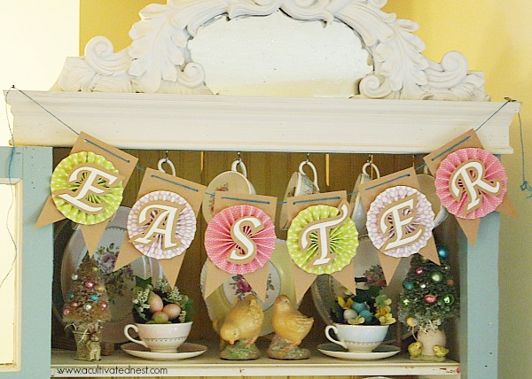 Easter banner | A Cultivated Nest