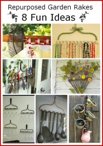 8 Fun Repurposed Rake Projects