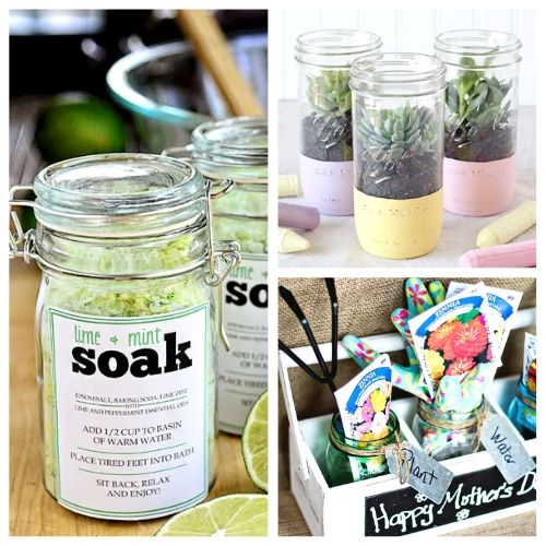 10 Pretty Mother S Day Gifts Using Jars A Cultivated Nest