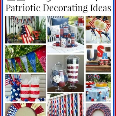 11 Cute DIY Patriotic Decorating Ideas