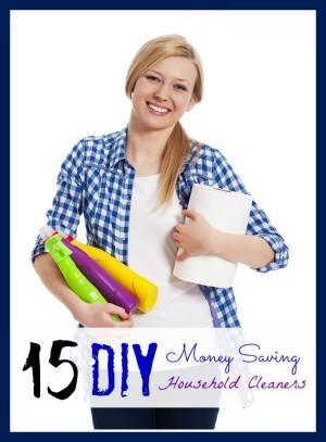15 diy money saving household cleaners (roundup)