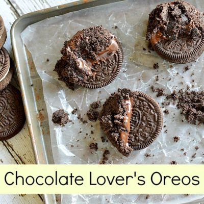 Chocolate Lover's cookie - Chocolate dipped oreo cookie recipe