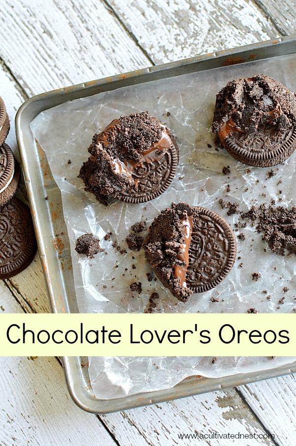 Chocolate dipped oreo cookie recipe