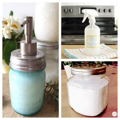 15 Great DIY Money Saving Household Cleaners- It doesn't have to cost a lot to clean your home naturally! Make some of these great DIY money saving household cleaners and you'll save a lot!   #diyCleaningProducts #homemadeCleaner #cleaning #naturaldCleaner #ACultivatedNest