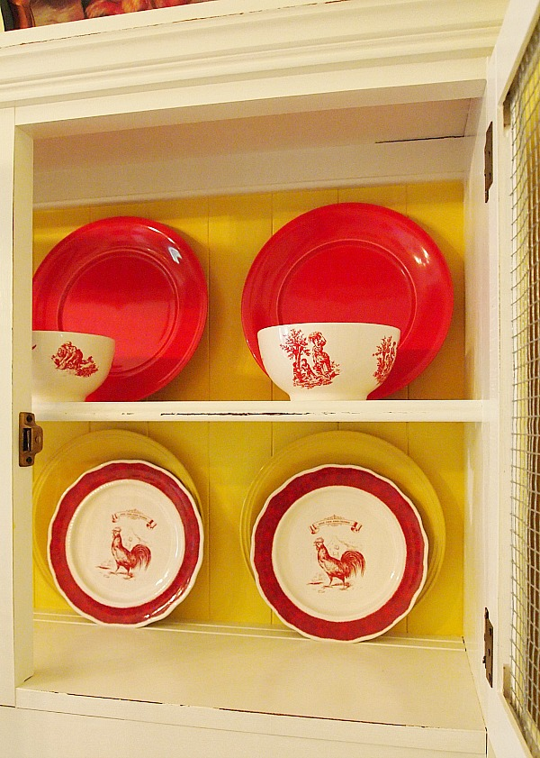 KMart Country Living Rooster Dishes