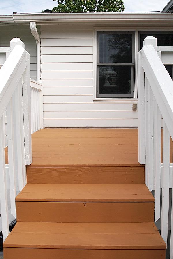 Sherwin Williams cedar deck stain