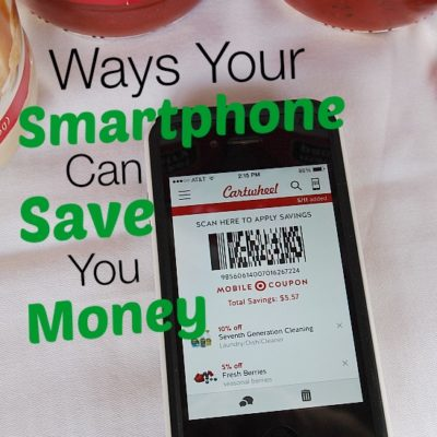 ways your smartphone can save you money