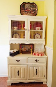 My New (to me) Dining Room China Cabinet