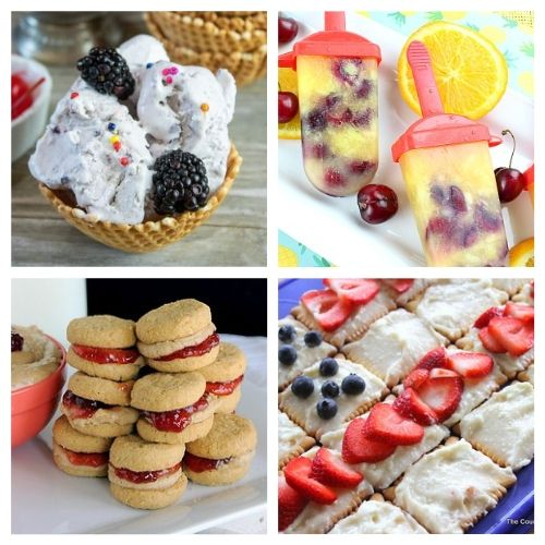 20 Tasty Treats to Make this Summer- If you want a delicious summer dessert, then you have to try these homemade sweet summer treats! They're such a wonderfully delicious way to enjoy summer! | cold dessert recipes for summer, #recipes #dessertRecipes #iceCream #summerRecipes #ACultivatedNest