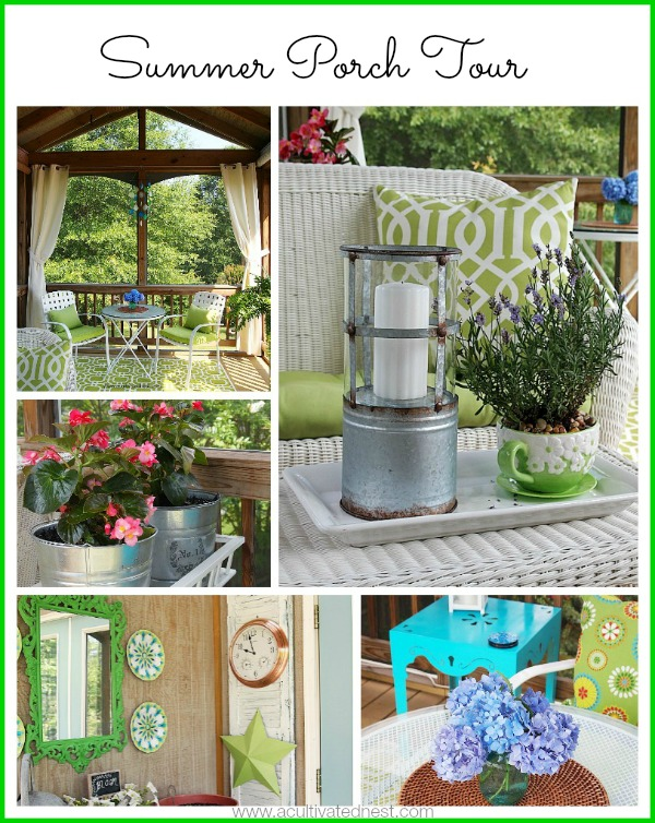 Lots of Summer Porch Decorating Ideas