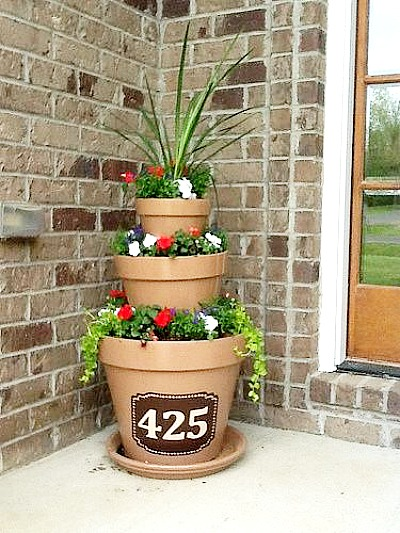 10 Amazing Flower Tower Tipsy Pot Planter Ideas A Cultivated Nest