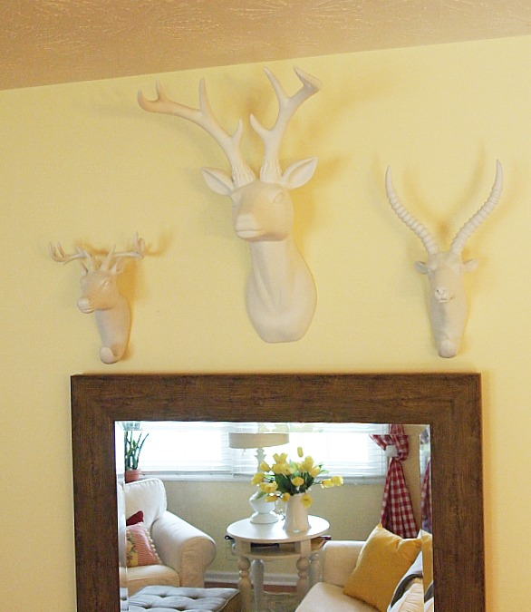 Decorating with faux taxidermy