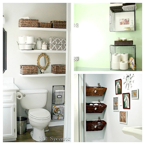 11 Fantastic Small Bathroom Organizing Ideas- A Cultivated