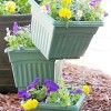 tiered flower pots from The Kim Six Fix (flower tower roundup)