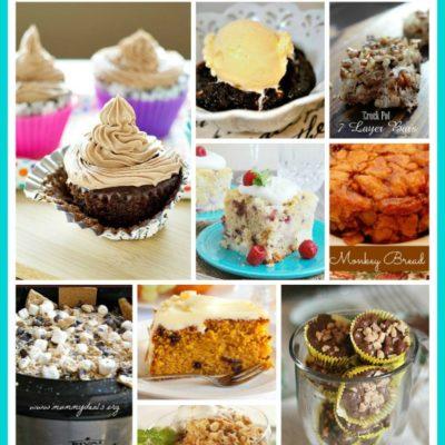 9 Scrumptuous Crockpot Slow Cooker Desserts