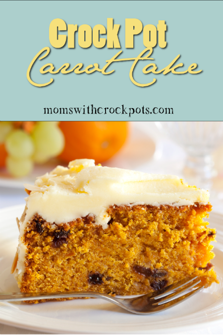 Crock Pot Carrot Cake by Moms With Crockpots