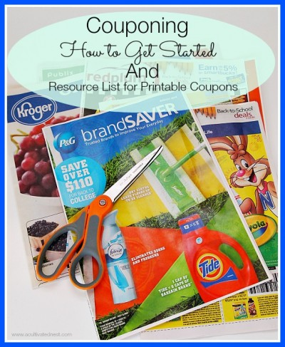 Here's a basic guide for how to get started using coupons and a list of resources for printable coupons!