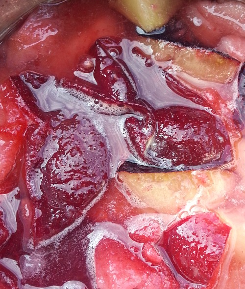 make some quick plum jam