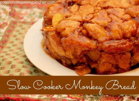 slow cooker monkey bread by Passionate Penny Pincher