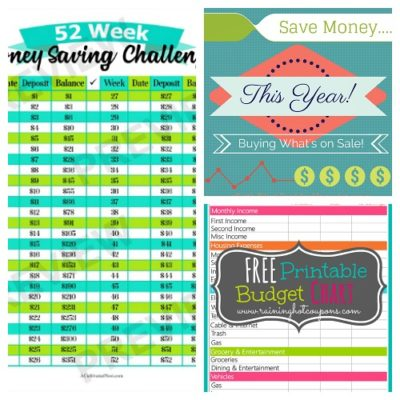 10 Free Printables to Save You Money + 5 More
