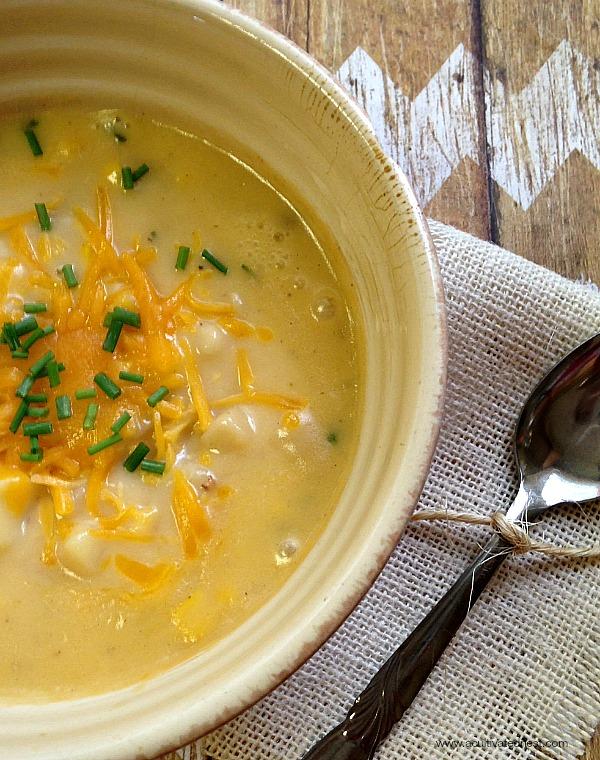 warm, comforting homemade chicken potato soup