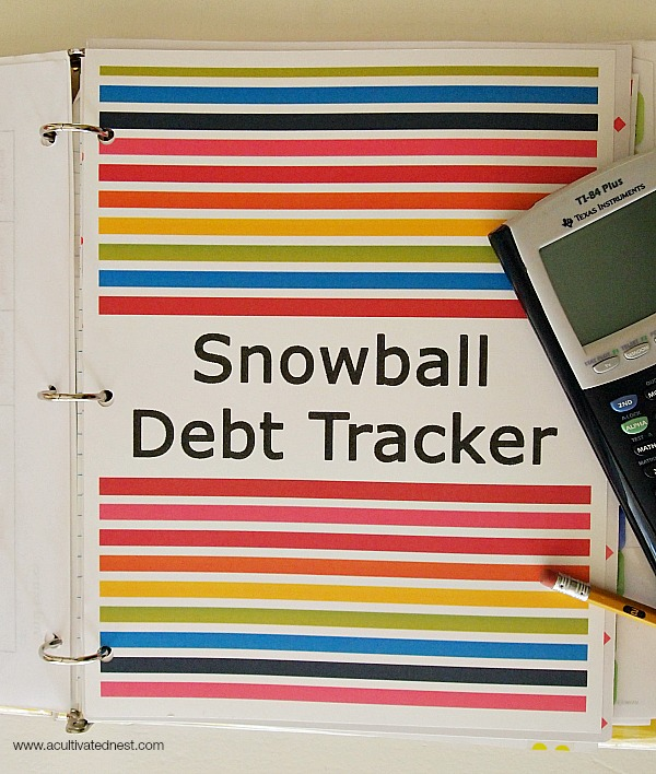 getting out of debt by using the debt snowball system