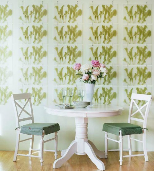 placemat wall art from BHG