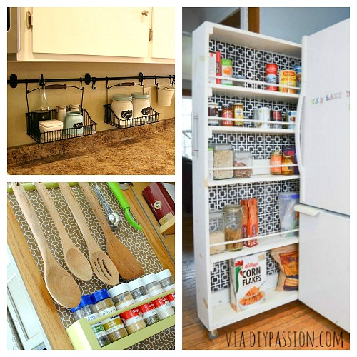 Kitchen Organization Ideas Small Spaces: 10 Ideas For Organizing A Small Kitchen- A Cultivated Nest