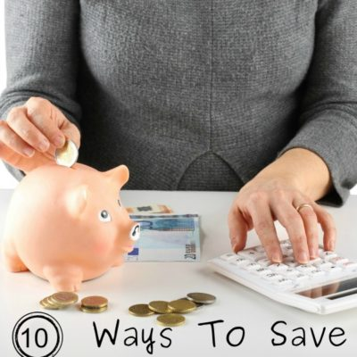 10 Ways you can save $100 in a month