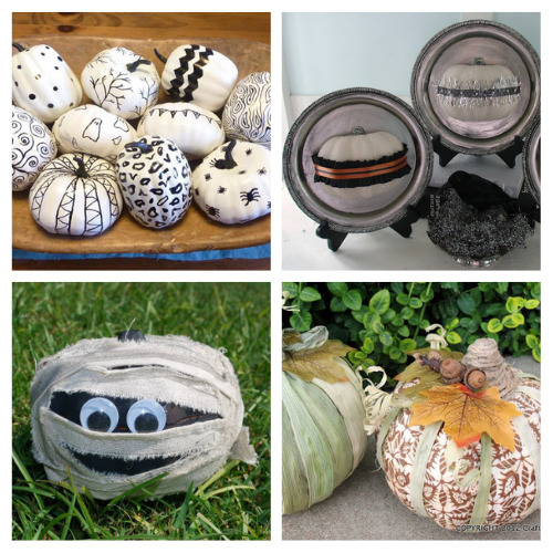 16 Dollar Store Pumpkin DIY Projects- Foam pumpkins from the dollar store are the perfect accessory to makeover on a budget! Use them in these fall dollar store pumpkin crafts!   #crafts #diyProjects #fallDIY #pumpkinDIY #ACultivatedNest