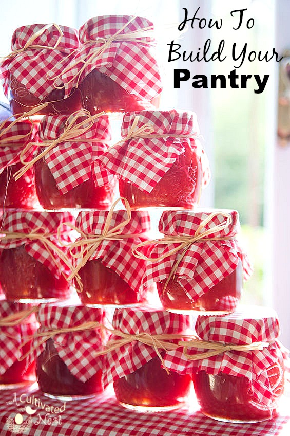 How to build your pantry/stockpile the easy no stress way.