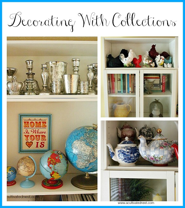 Decorating with collections