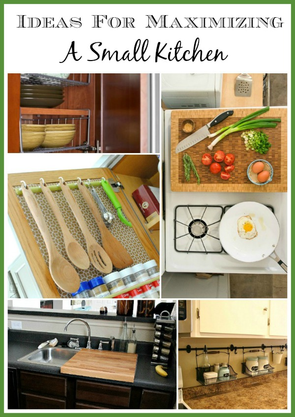 10 Ideas For Organizing A Small Kitchen- Organizing your kitchen doesn't have to be hard, even if it's small. You just need some inspiration! Check out these 10 clever ideas for organizing a small kitchen! | how to organize a small space, organize an apartment, organize a tiny kitchen, #organization #organizingTips #kitchen #homeOrganization #organizing #organize