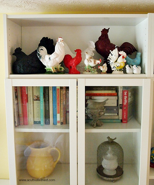 vintage rooster collection