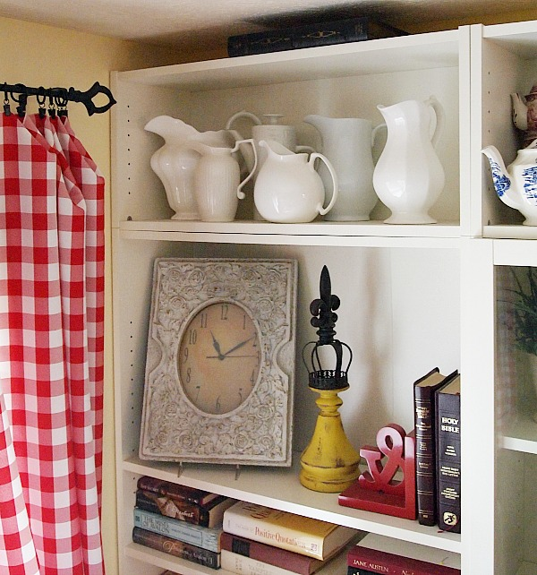 white pitcher collection
