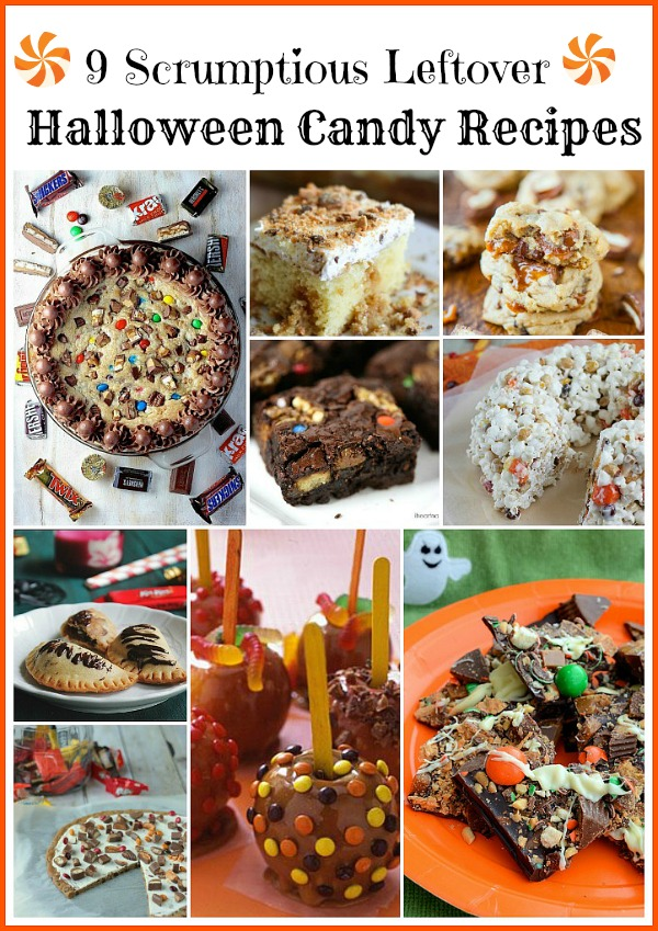 9 scrumptious recipes that use leftover Halloween candy