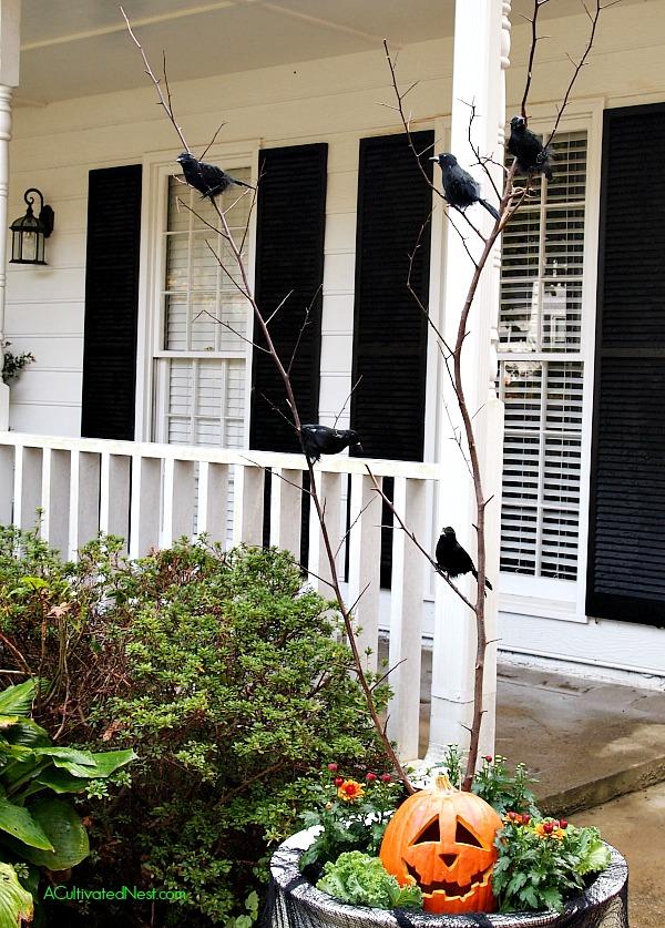 DIY Halloween Outdoor Decoration Idea
