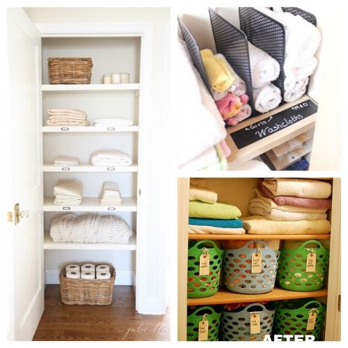 Organizing Your Linen Closet - If you need to get your linen closet organized, these tips can help! Organizing your linen closet will be super easy once you know these tips and tricks! | #organization #organize #organizingTips #linenCloset #ACultivatedNest