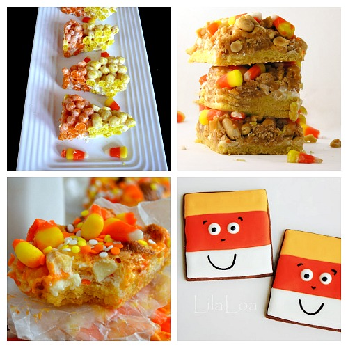 Ways to Use Up Leftover Halloween Candy Corn- If you love candy corn, then you've got to check out these 25 creative candy corn recipes! These are wonderful fall or Halloween dessert ideas! And they're a great way to use up leftover Halloween candy! | candy corn desserts, candy corn themed food, #dessert #recipe #candyCorn #Halloween #fall #food #cookies #cake #ACultivatedNest