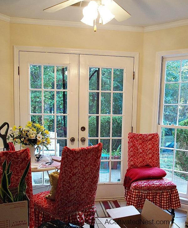 moving in breakfast room