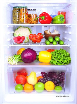 Reducing food waste at home | An organized refrigerator will save you money