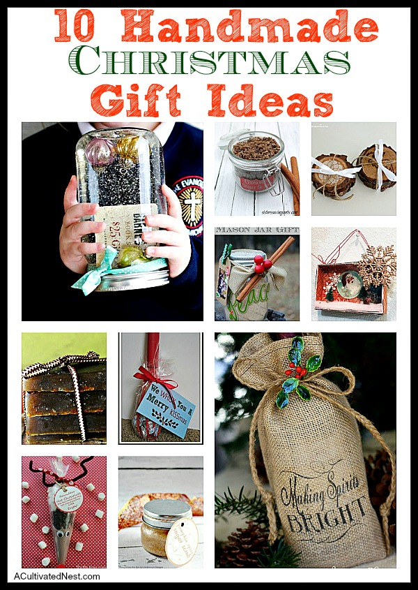 10 Inexpensive Handmade Christmas Gifts to Start Making Now.