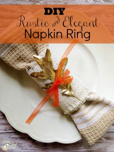 Sweet & Simple Projects: DIY Frugal Holiday Napkin Ring