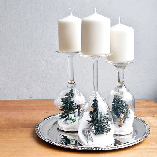 10 diy dollar store holiday decorations. Black Bedroom Furniture Sets. Home Design Ideas
