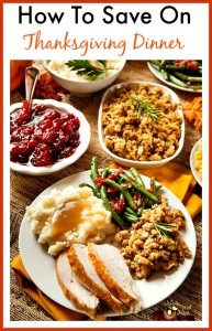 Tips For Saving Money On Thanksgiving Dinner