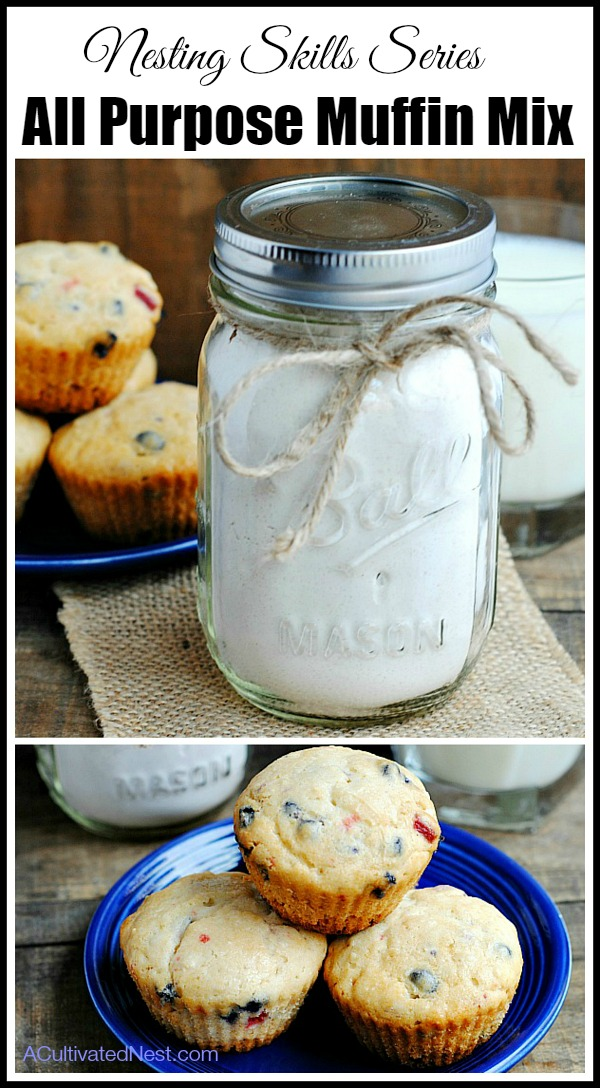 All-Purpose Homemade Muffin Mix Recipe